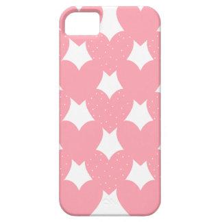 Corazones ligados rosa funda para iPhone SE/5/5s