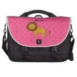 Corazones lindos conocidos personalizados del rosa bolsas para portátil