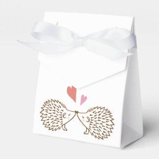 Corazones lindos de los erizos de la caja del caja para regalos de fiestas