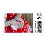 Corazones lindos del caramelo de la tarjeta del dí envio