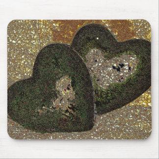corazones tapetes de ratón