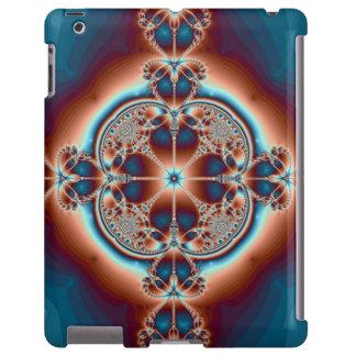 Corazones psicodélicos funda para iPad
