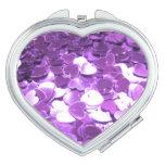 Corazones púrpuras