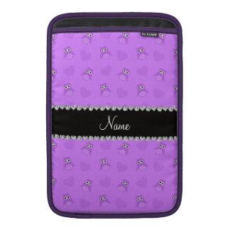 Corazones púrpuras en colores pastel conocidos per fundas para macbook air