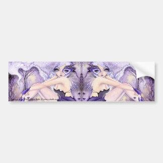 * Corazones púrpuras * pegatina para el parachoque Pegatina Para Auto