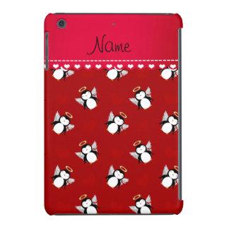 Corazones rojos conocidos personalizados del rojo funda de iPad mini