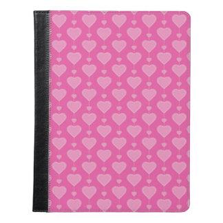 Corazones rosados bonitos de la tarjeta del día de