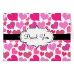 Corazones rosados bonitos para Bachelorette o la n Felicitaciones