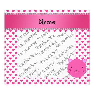Corazones rosados conocidos personalizados del ros fotografias