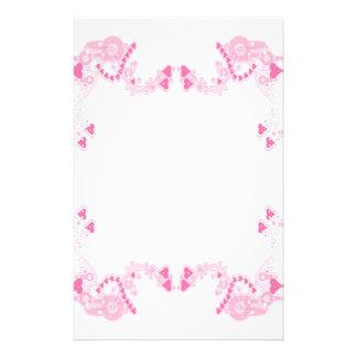 Corazones rosados de Deco inmóviles Papeleria