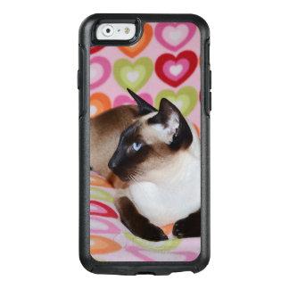 Corazones soñadores del gato siamés funda otterbox para iPhone 6/6s