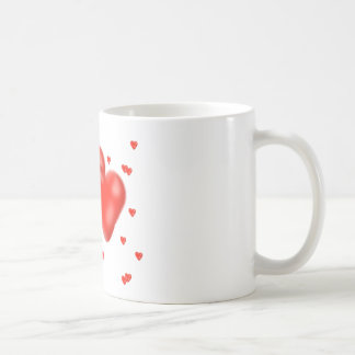 corazones taza
