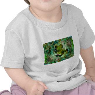 Corazones verdes camisetas