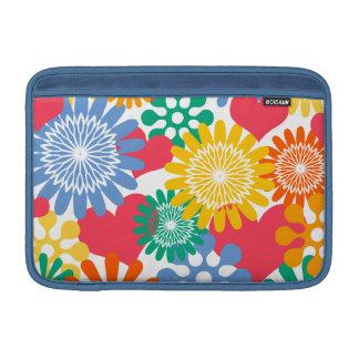 Corazones y flores/colorido fundas macbook air