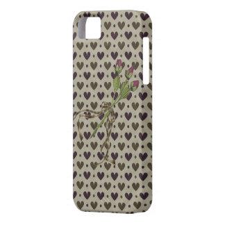 Corazones y iPhone delicados 5 de la casamata de iPhone 5 Carcasa