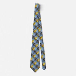 Corbata amarilla de goma del pato de Donald Trump