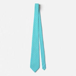 Corbata azul y blanca del huevo de los petirrojos