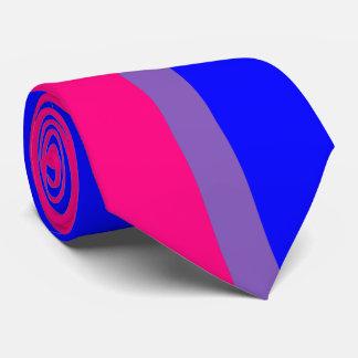 Corbata bisexual del orgullo