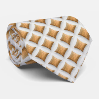 Corbata de cobre del modelo de los diamantes micro