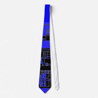 corbata de la explotación minera