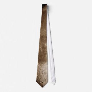 Corbata de la luna para el camisetas color nata