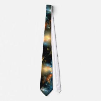 Corbata de la materia del espacio