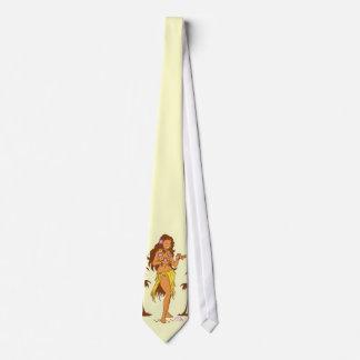 Corbata del chica de Hula
