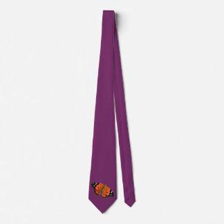 Corbata del diseño de la mariposa de Kamehameha