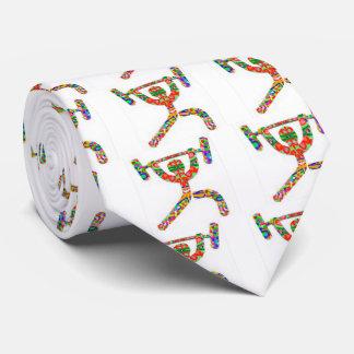 Corbata del levantamiento de pesas