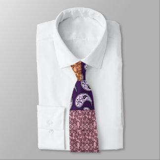 Corbata del modelo del remiendo de Paisley