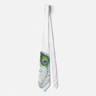 Corbata del pavo real