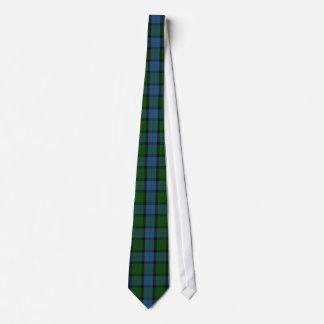 Corbata elegante de la tela escocesa de tartán de