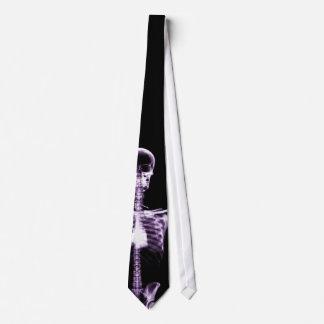 Corbata esquelética púrpura de Vision de la