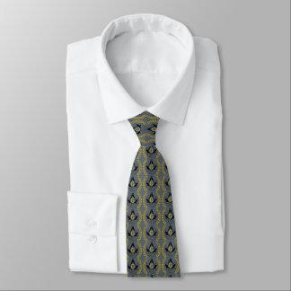 Corbata masónica (impresa ambos lados)