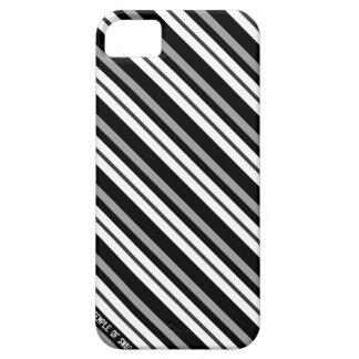 Corbata negra iPhone 5 fundas