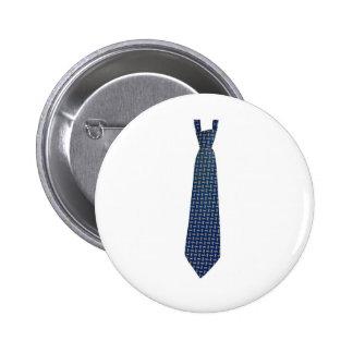 corbata pin redondo de 2 pulgadas