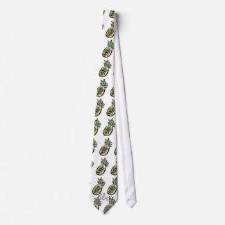Corbata ventosa de la piña de la hawaiana del