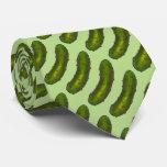 Corbata verde crujiente de Foodie de la salmuera