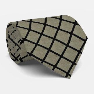 Corbata verde del modelo de la teja del travertino