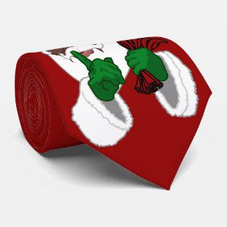Corbatas de Santa del navidad del lazo de Papá Corbatas Personalizadas