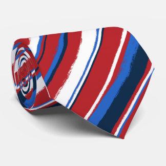 Corbatas rayadas Painterly Corbata