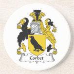 Corbet Family Crest Coaster