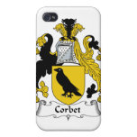 Corbet Family Crest Covers For iPhone 4