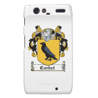 Corbet Family Crest Motorola Droid RAZR Cover