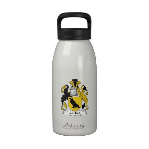 Corbet Family Crest Water Bottle