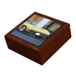 Corbeta clásica amarilla caja de regalo