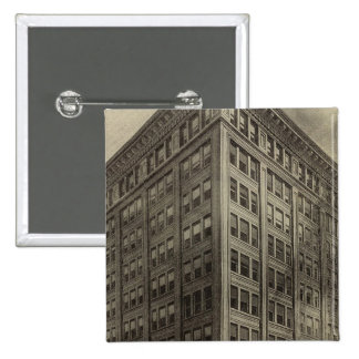 Corbett Bldg, Portland, Oregon Pinback Button