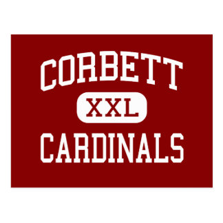 Corbett - Cardinals - Middle - Corbett Oregon Post Card