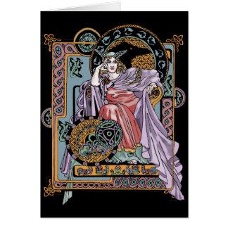 Corbie Queen Card