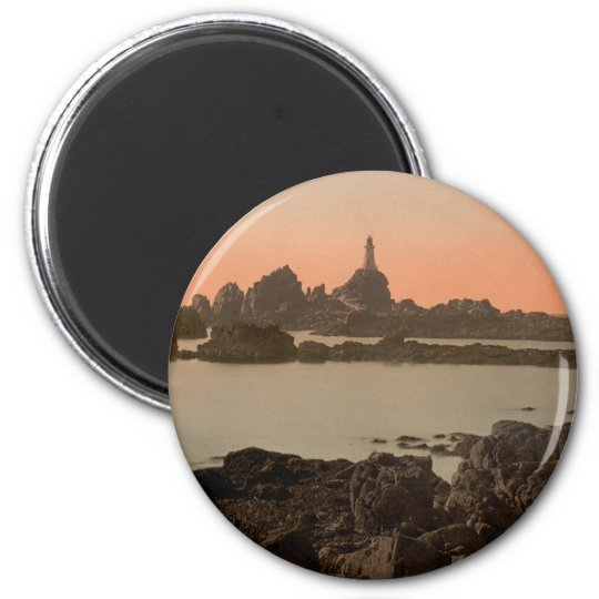 Corbiere Lighthouse I, Jersey, England Magnet